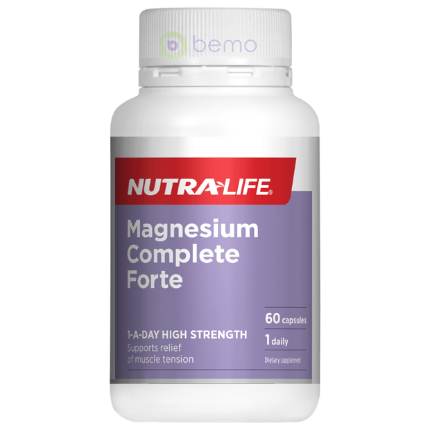 Nutra-Life, Magnesium Complete Forte, 60 caps (5673215099044)