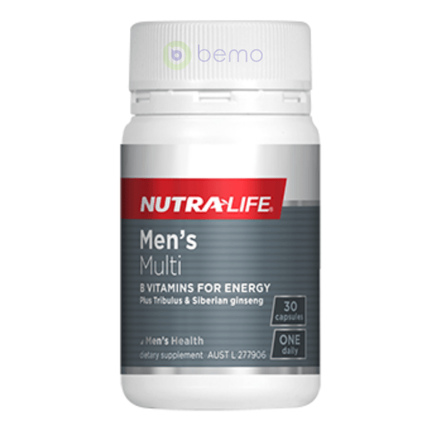 Nutra-Life, Mens Multi 1-a-Day, 30 caps (5673218179236)