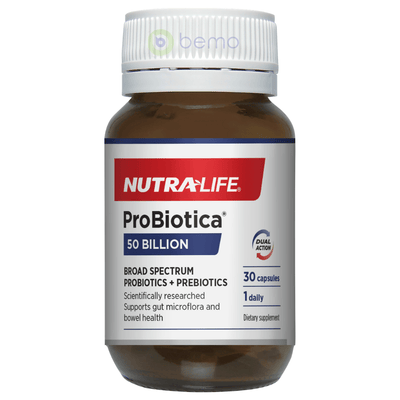 Nutra-Life, ProBiotic 50 Billion High Strength, 30 caps (5673158672548)