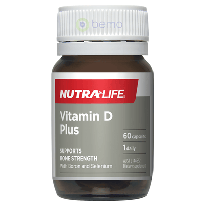 Nutra-Life, Vitamin D Plus, 60 caps (5673213919396)