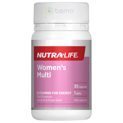 Nutra-Life, Womens Multi 1-a-Day, 30 caps (5673217360036)