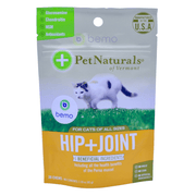 Pet Naturals of Vermont, Hip + Joint, Chews For Cats, 30 Chews, 45g - bemo (4428945948812)