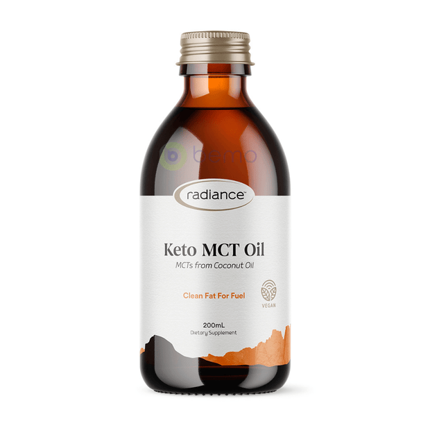 Radiance, Keto MCT Oil, 200ml (6003046187172)