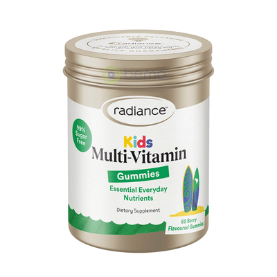 Radiance, Kids Multi-Vitamin, Gummies 60 (6003044974756)