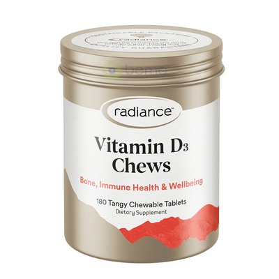 Radiance, Vitamin D3, Chewable 180 (6003045761188)