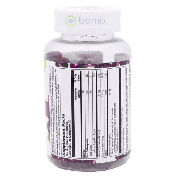 Zand, Elderberry Zinc Gummies, 60 Gummy