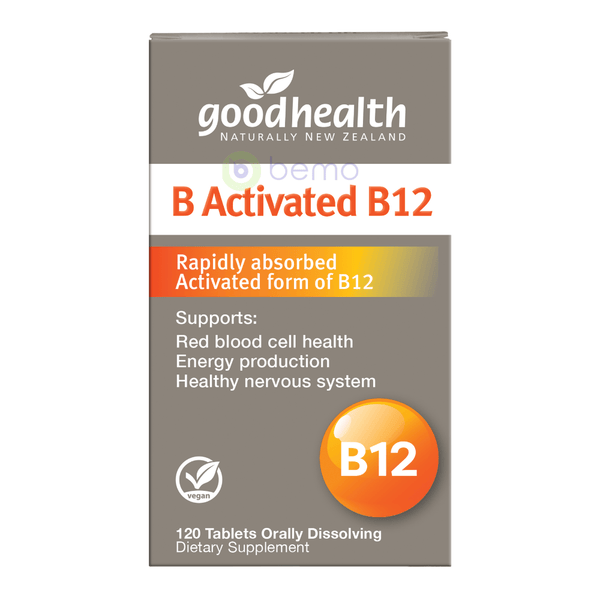 Good Health, B Activated B12, 120 Orally Dissolving Tablets (5508829937828)