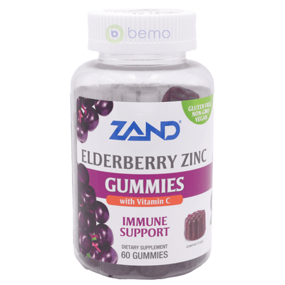 Zand, Elderberry Zinc Gummies, 60 Gummy (5379019767972)