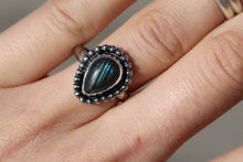 Load image into Gallery viewer, Size 7 Labradorite Ring