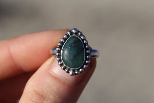 Size 6.5 Emerald Ring