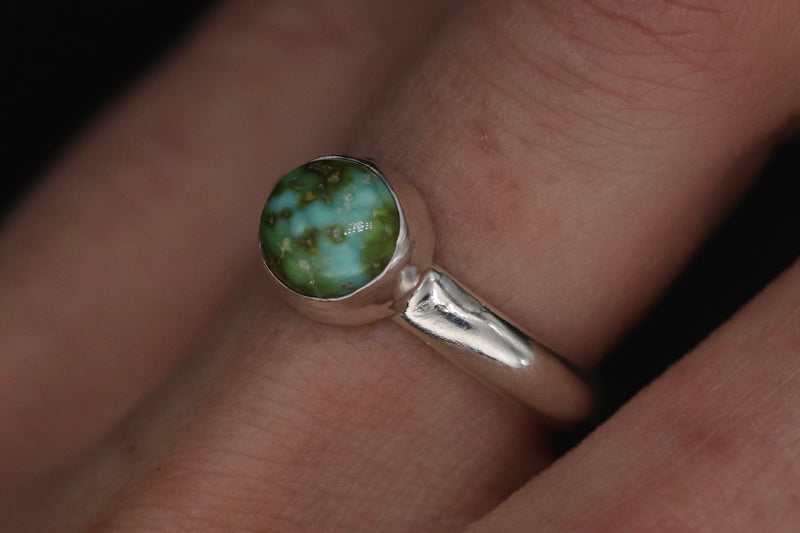 Size 5.5 Sonoran Gold Turquoise Ring