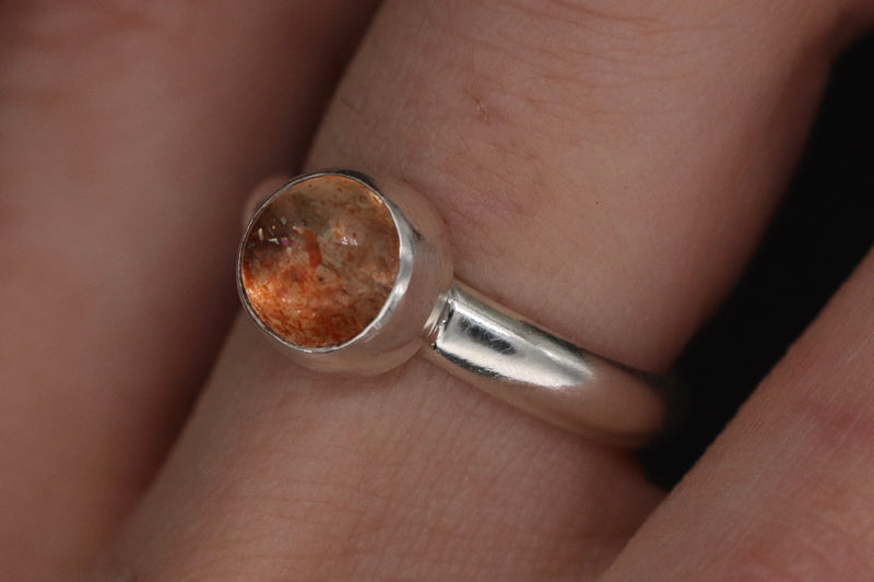 Size 5 Sunstone Ring