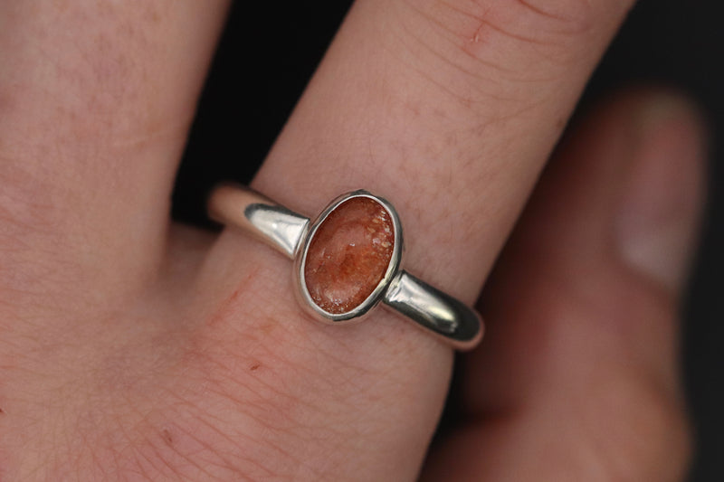 Size 10.5 Sunstone Ring