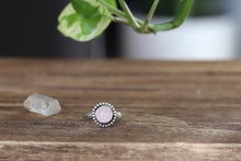Load image into Gallery viewer, Size 6.5 Rose Quartz Ring