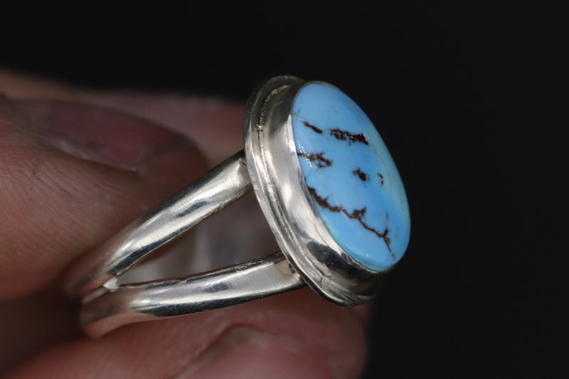 Size 7 Golden Hill Turquoise Ring
