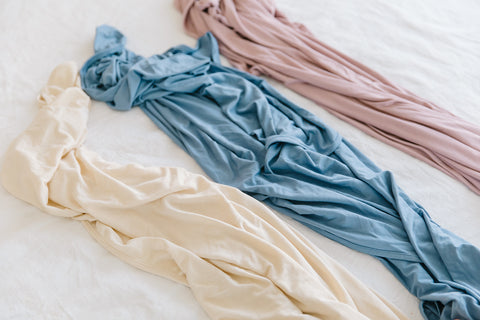 bamboo stretchy swaddle blankets