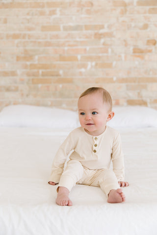cozy two piece set for baby