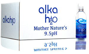 Natural Alkaline Water - 16.9oz (500mL) - Case of 24 bottles
