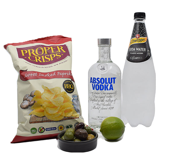 Vodka & Soda Aperitif Pack