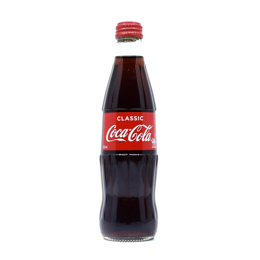 Coca-Cola Classic Glass Bottle 330ml