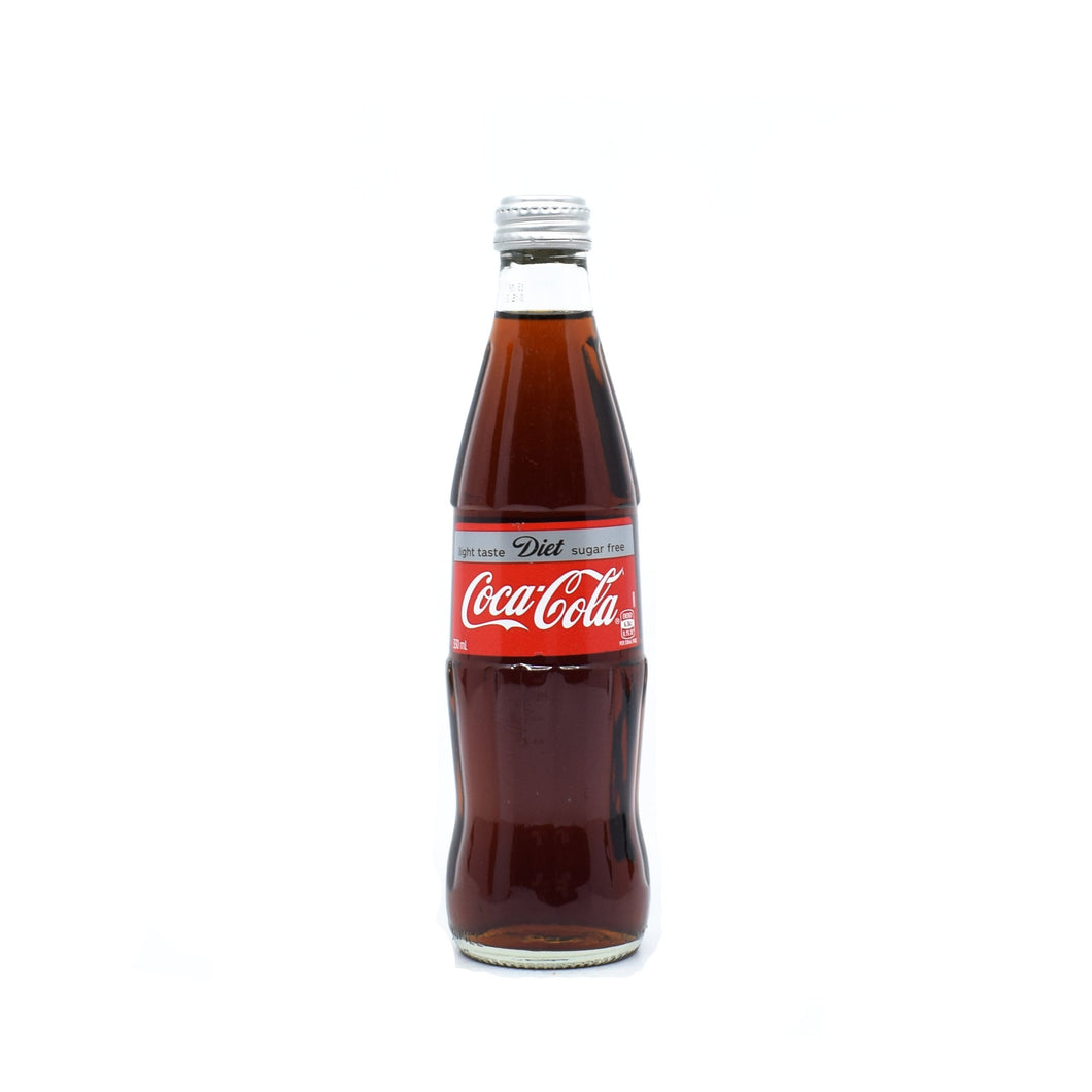 Coca-Cola Diet Glass Bottle 330ml