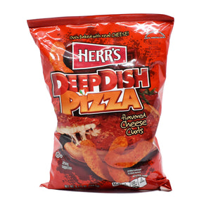 Herr's Deep Dish Pizza Flavoured Cheese Curls 184.3g