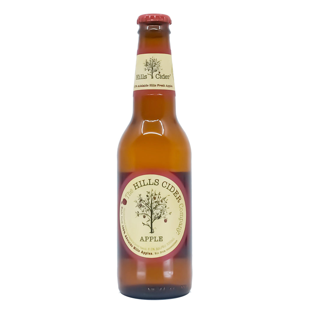Hills Apple Cider 330ml 6 Pack