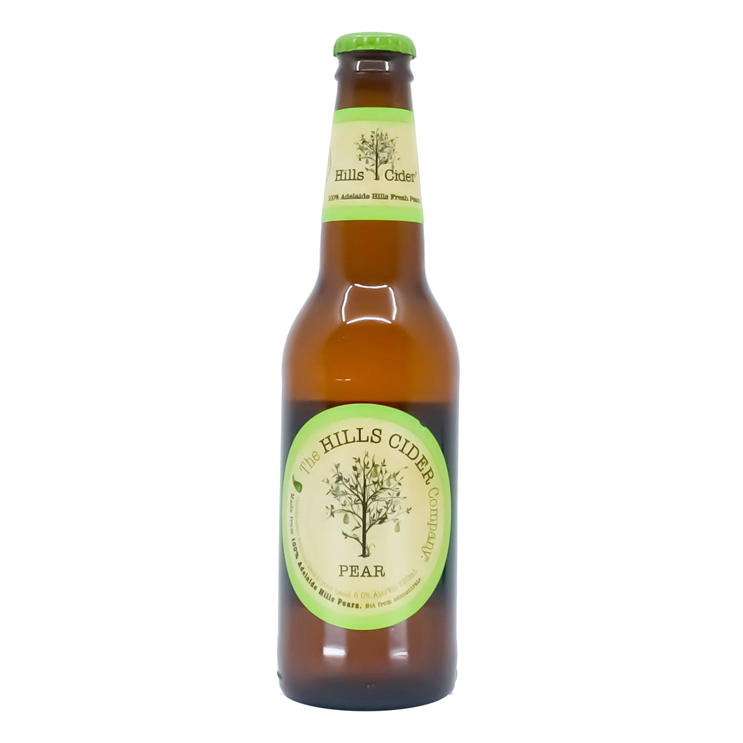 Hills pear Cider 330ml 6 Pack