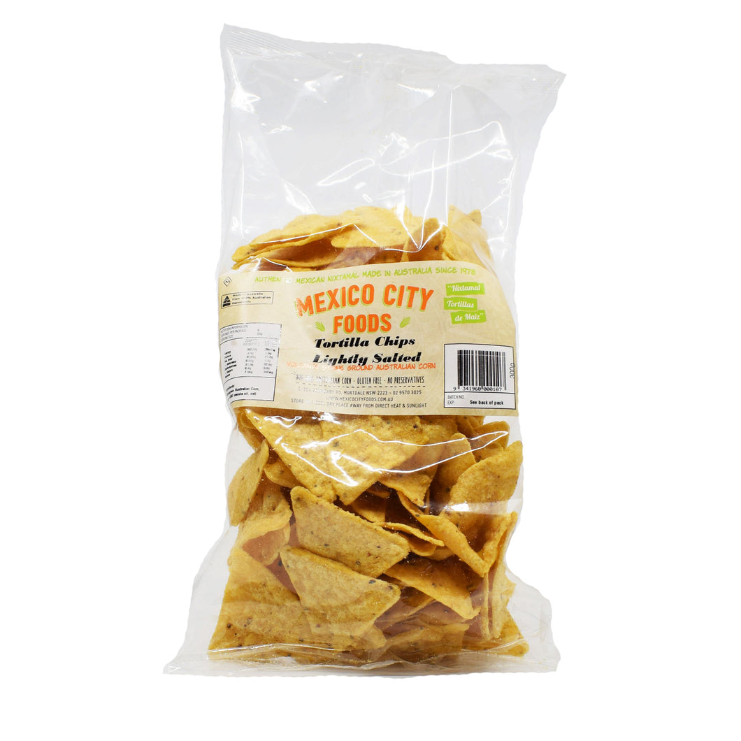 Mexico City Tortilla Chips Lightly Salted 300g