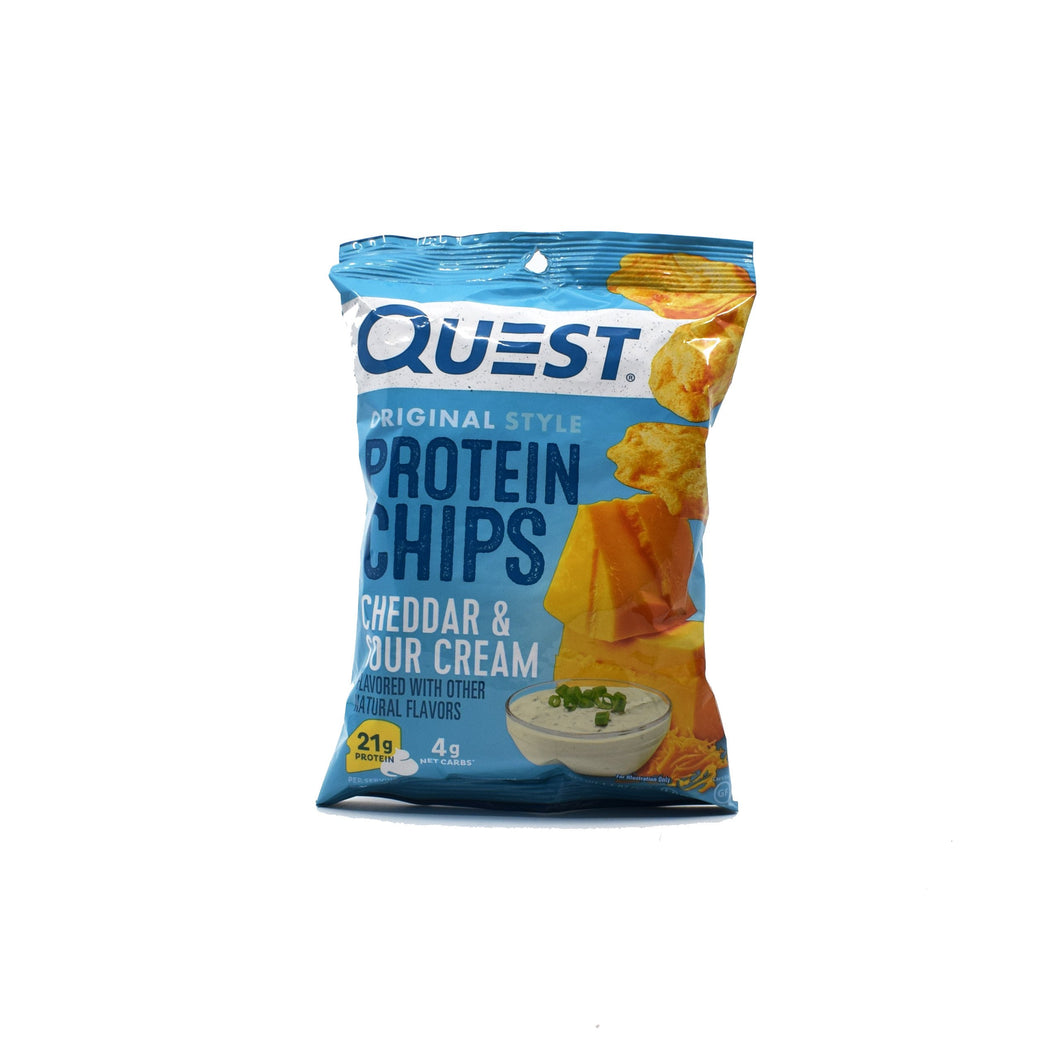 Quest Original Protein Chips - Cheddar & Sour Cream 32g