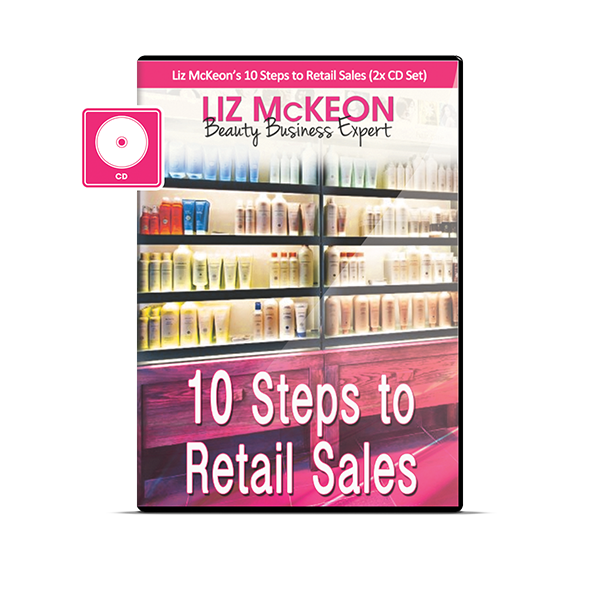 Liz's 10 Steps to Retail Sales [2 CD Audio Boxset]