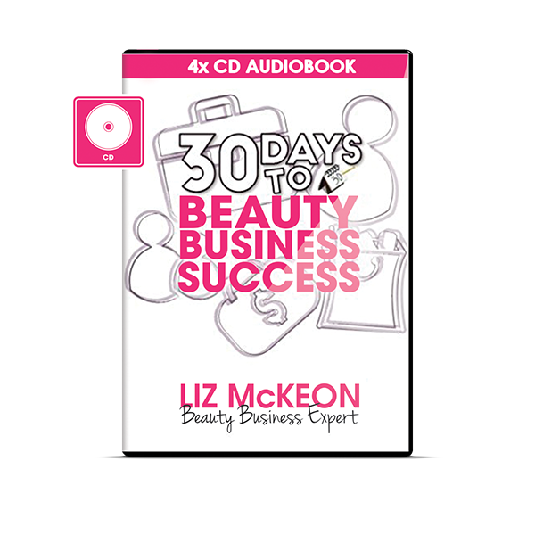 30 Days to Beauty Business Success [4CD Audio Boxset]