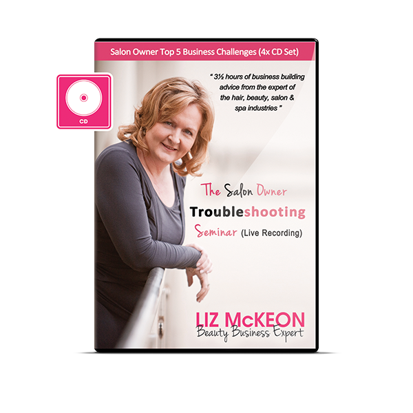 The Salon Owner Troubleshooting Seminar [4CD Audio Boxset]