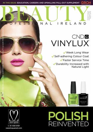 Liz Mckeon featured in Beauty Professional Ireland Magazine