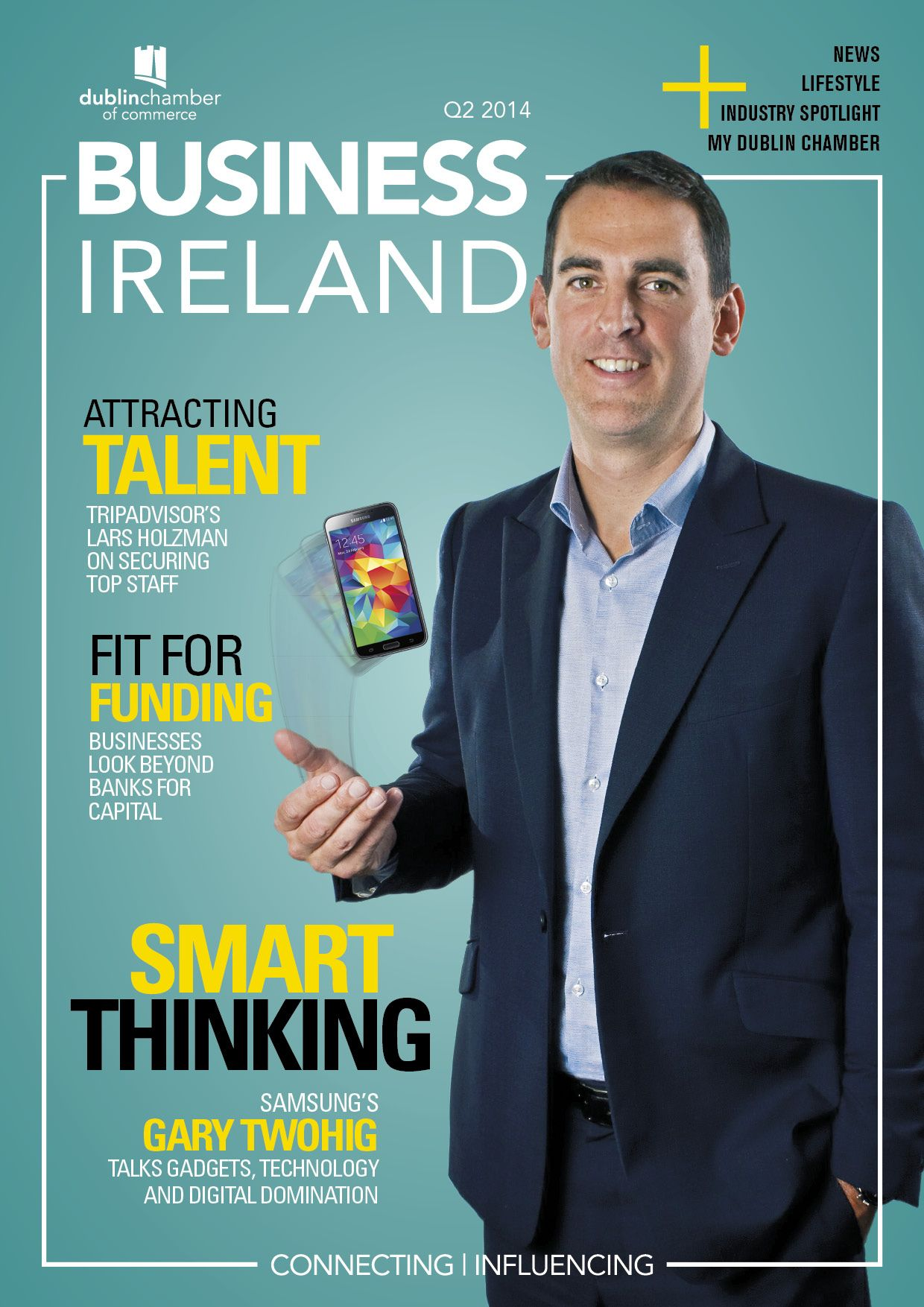 Liz Mckeon featured in Business Ireland Magazine
