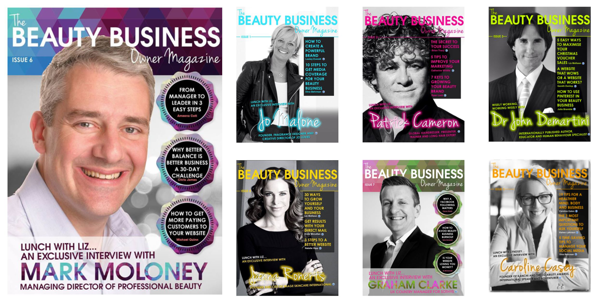LIZ MCKEON IS A FORMER EDITOR IN CHIEF OF TOP BEAUTY INDUSTRY PUBLICATIONS