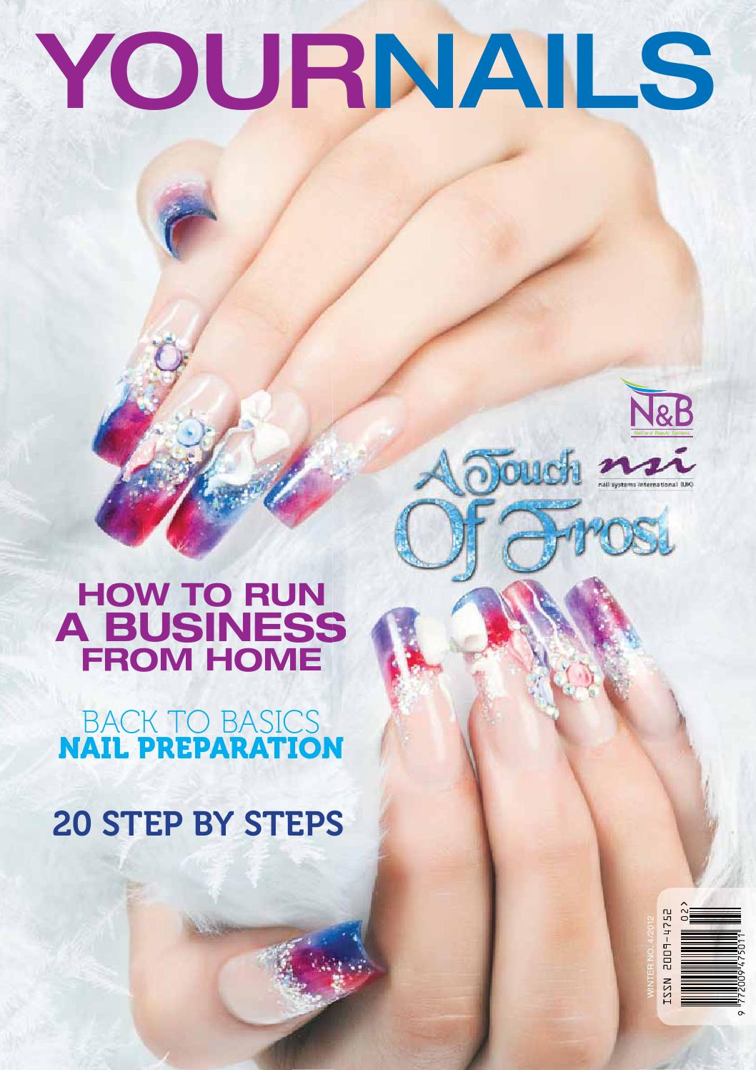 Liz Mckeon featured in Your Nails Magazine