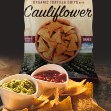 Organic Tortilla Chips with Cauliflower