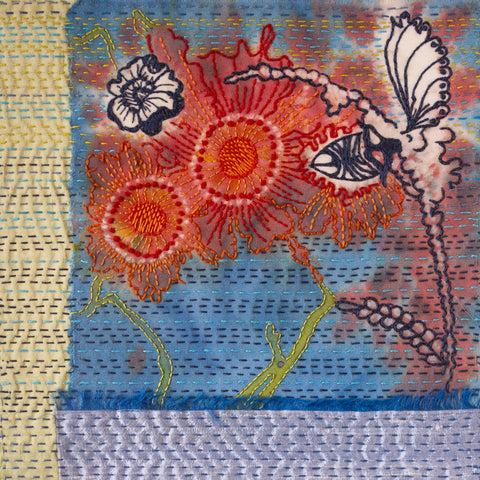 Japanese Boro Inspired Stitching workshop by April Sproule.