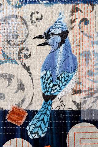 Beautiful Bird Collage Workshop with April Sproule