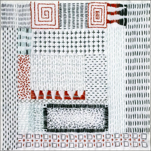 Japanese Boro Inspired Stitching workshop by April Sproule