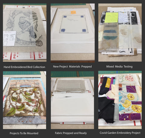 Organizing multiple art projects by April Sproule