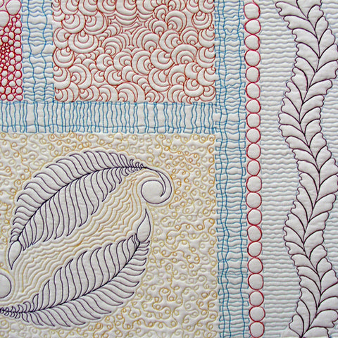 Free Motion Quilting Sampler workshop taught by April Sproule.