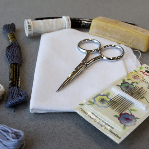 Hand Embroidery basic supplies you need to get started.