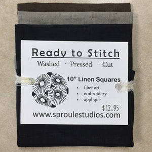 Linen Stitch Packs