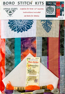 Japanese Boro Stitch Kit by April Sproule.