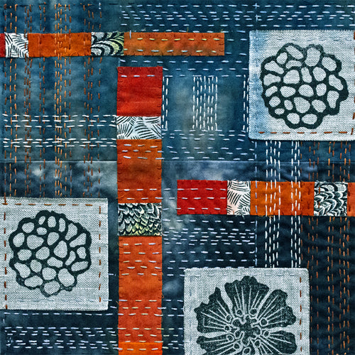 Open Enrollment, Virtual Workshop: Japanese Boro Inspired Stitching