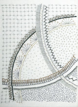 Load image into Gallery viewer, The Curvaceous Sampler is a hand embroidery pattern by April Sproule.