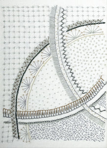 The Curvaceous Sampler is a hand embroidery pattern by April Sproule.
