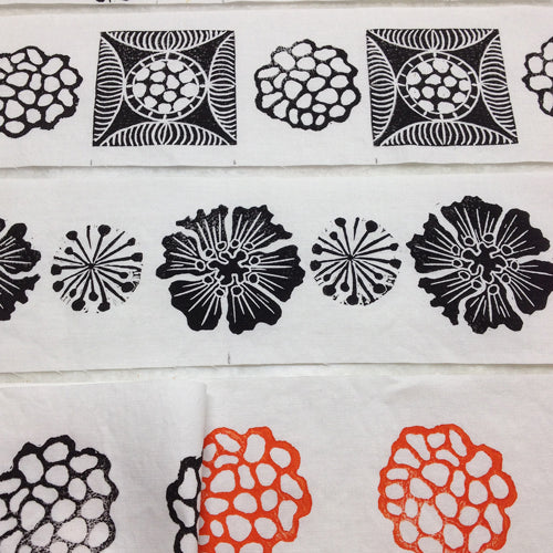 Learn to Block on Fabric with April Sproule.